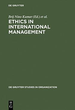 Ethics in International Management PDF