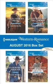 Harlequin Western Romance August 2016 Box Set: An Anthology
