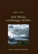 Malt Whisky   unabh  ngige Abf  ller PDF