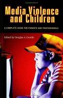 Media Violence and Children PDF