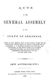 Acts and resolutions of the General Assembly
