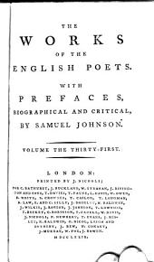 The Works of the English Poets: With Prefaces, Biographical and Critical, Volume 31