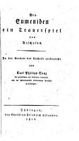 Die Eumeniden PDF