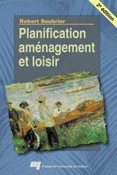 Planification, Aménagement et Loisir