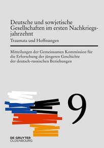 Deutsche und sowjetische Gesellschaften im ersten Nachkriegsjahrzehnt PDF