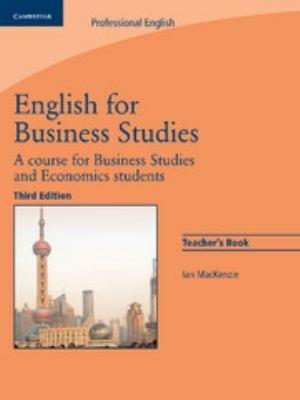 English For Business Studies Teacher S Book
