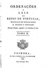 Ordenações e leis do reino de Portugal: Volume 2