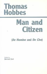 Man and Citizen Book