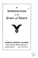 An Introduction to the Study of Trusts PDF