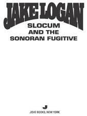 Slocum 372: Slocum and the Sonoran Fugitive