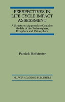 Perspectives in Life Cycle Impact Assessment PDF