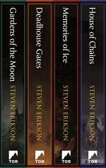 Malazan Book of the Fallen: Books 1-4