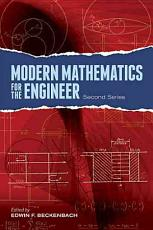 Modern Mathematics for the Engineer  Second Series PDF