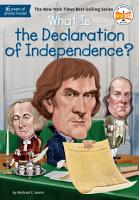 What Is the Declaration of Independence  PDF