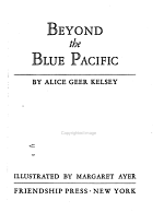 Beyond the Blue Pacific