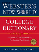 Webster s New World College Dictionary  Fifth Edition