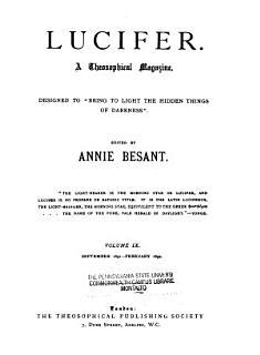 Lucifer Book