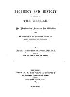 Prophecy and History in Relation to the Messiah PDF