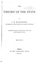 The Theory of State PDF
