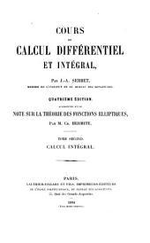 Cours de calcul différentiel et intégral: Volume2