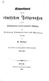 Die Quellen der Ketzergeschichte bis zum Nicänum. Kritisch untersucht von G. V.