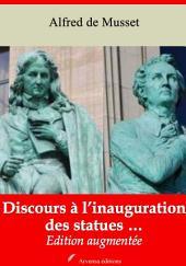Discours à l'inauguration des statues …: Nouvelle édition augmentée