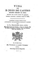Vida Joaõ de Castro, quarto viso-rey da India