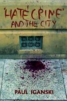 Hate Crime  and the City PDF