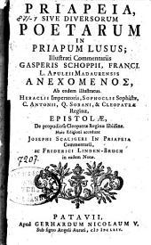 Priapeia, sive Diversorum poetarum in Priapum lusus