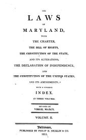 The Laws of Maryland: 1786-1800