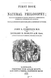 First book of natural philosophy, by J.L. Comstock and R.D. Hoblyn