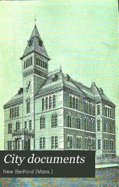 City Documents: Municipal Register, Mayor's Address, Annual Reports, Etc