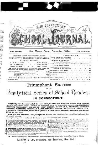 The Connecticut School Journal PDF