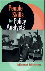 People Skills For Policy Analysts Book PDF