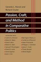 Passion  Craft  and Method in Comparative Politics PDF