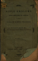 Bible Emblems  with sketches of lessons  for the use of Sabbath School teachers PDF