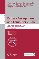 Pattern Recognition and Computer Vision