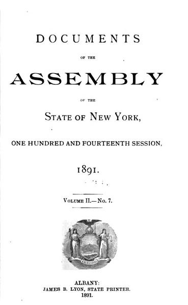 Download Documents of the Assembly of the State of New York Book