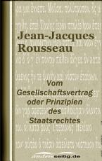 Vom Gesellschaftsvertrag oder Prinzipien des Staatsrechtes PDF