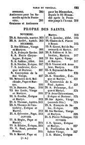 Vésperal romain, coprenant les vêpres de tous les jours de l'année, avec les hymnes notées en entier