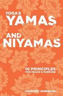 Yoga s Yamas and Niyamas