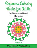 Beginners Coloring Books for Adults - Volume 9