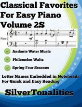 Classical Favorites for Easy Piano Volume 2 A