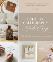 Creative Calligraphy Made Easy PDF