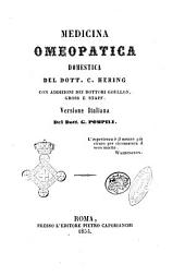 Medicina omeopatica domestica versione italiana del dott. C. Hering