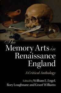 The Memory Arts in Renaissance England Book
