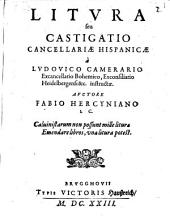 Litura Cancellariae Hispanicae