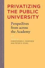 Privatizing the Public University