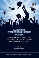 Academic Entrepreneurship in Asia PDF