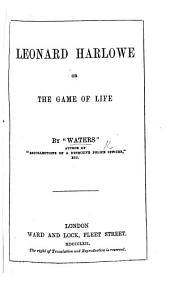 "The Game of Life. By ""Waters."" The preface is signed C. Waters"